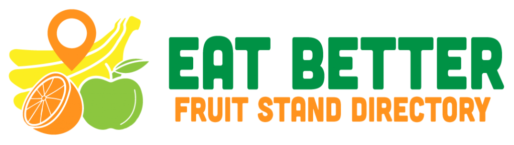 The official Eat Better Fruit Stand Directory logo